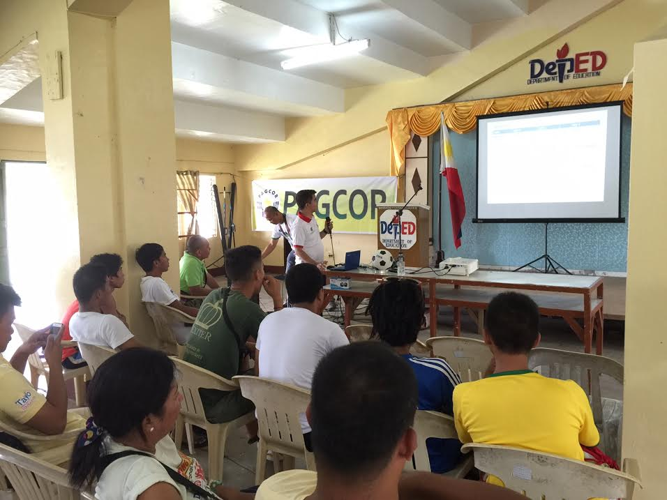 PFF PAGCOR Grassroots Course and Festival in Virac Catanduanes