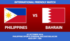 Philippines vs Bahrain International Friendly Match