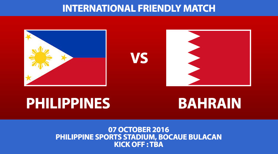 Philippines vs Bahrain International Friendly Match