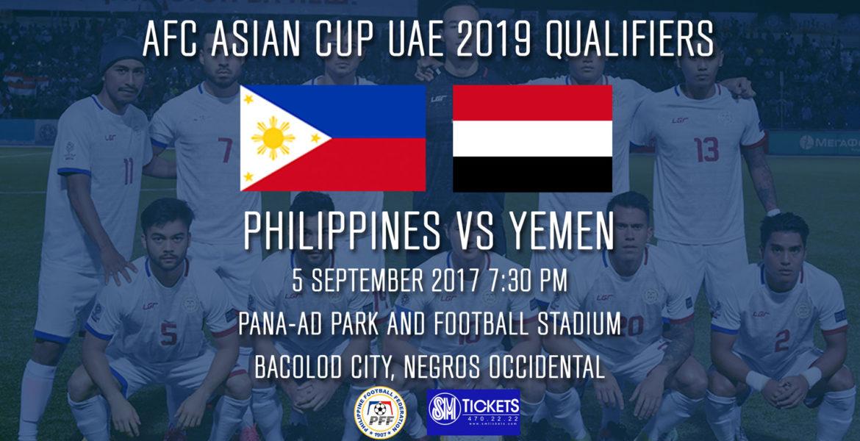 Philippine Men's National Team to Face Yemen in AFC Asian