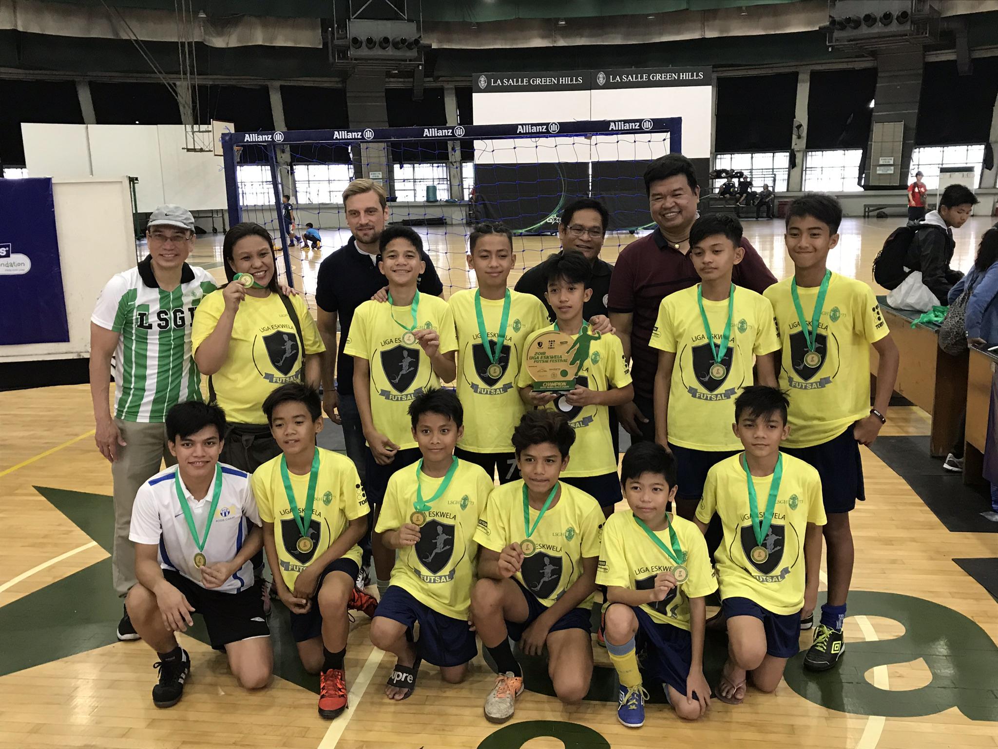 Futsal Takes Center Stage With Liga Eskwela Festival The Philippine Football Federation